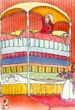 http://www.claudiawolf.com/cwolf_kids_art/princess-and-the-pea.jpg